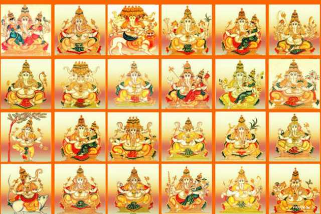 different-forms-of-ganapati