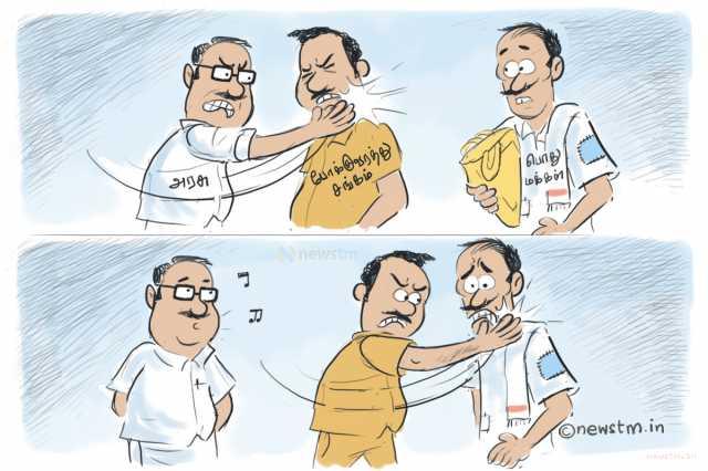 tamilnadu-stumbles-as-transport-unions-strike