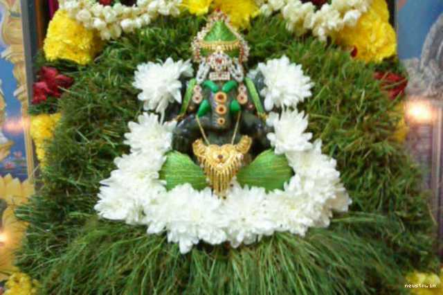 what-is-the-significance-of-grass-in-ganesh-pooja