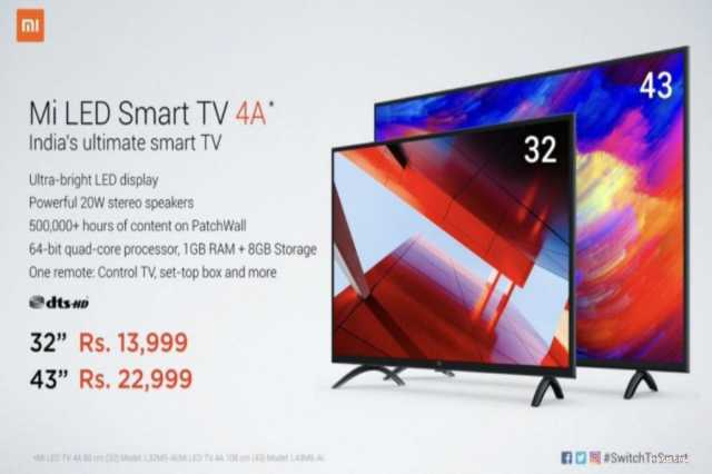 xiaomi-mi-tv-4a-launched-in-india