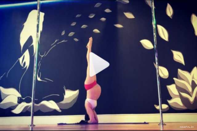 woman-continues-to-pole-dance-through-her-pregnancy