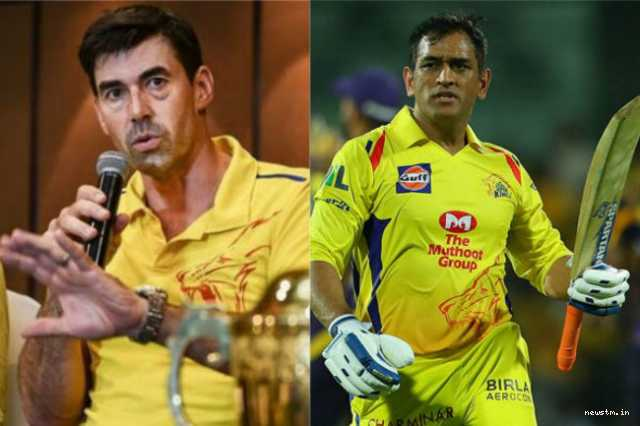 coach-fleming-about-csk-s-victory-and-dhoni