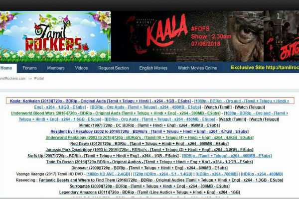 tamil-rockers-released-kaala-within-2-hours-after-official-release
