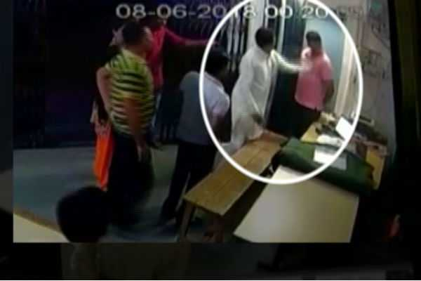 madhya-pradesh-bjp-mla-slaps-constable-viral-video