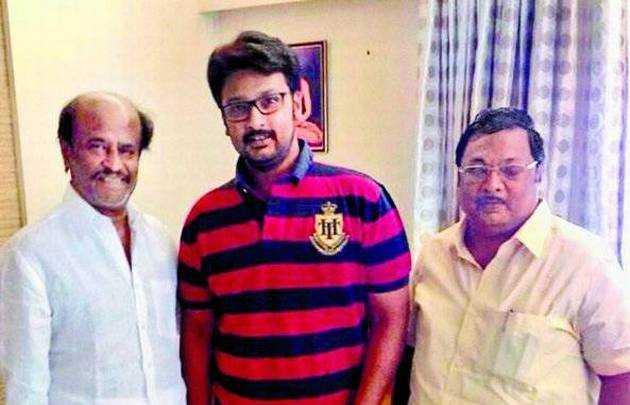 rajinikanth-party-joins-mk-azhagiri