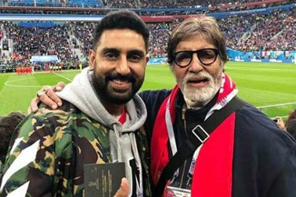 amitabh-and-abhishek-bachchan-enjoy-fifa