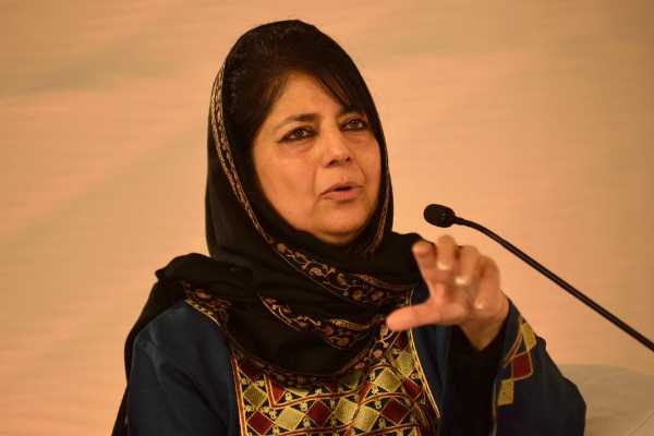 if-bjp-tries-to-break-pdp-outcome-will-be-dangerous-mehbooba-mufti