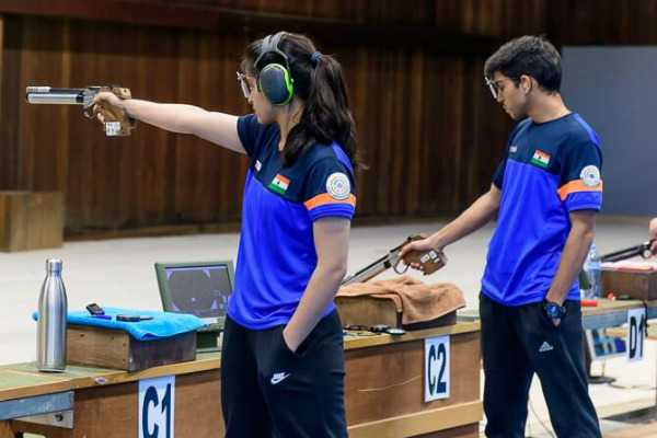 manu-bhaker-anmol-jain-wins-team-gold-in-international-shooting-event