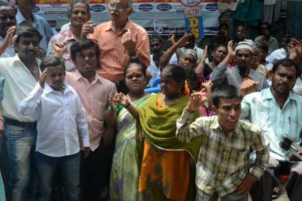 11-year-child-rape-case-physically-challenged-people-protest-at-chennai