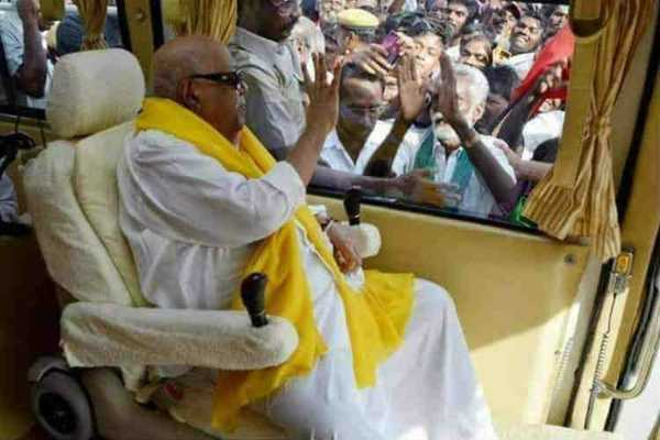 health-critical-rumor-karunanidhi-of-the-swimming-coast