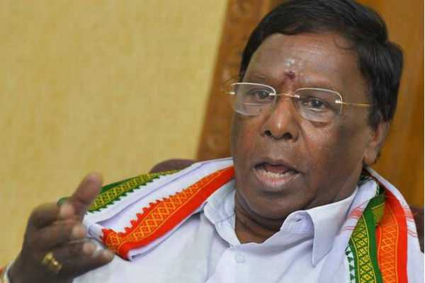 is-the-kiran-bedi-governor-or-the-state-head-of-the-bjp-narayanasamy
