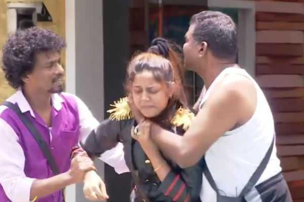 housemates-protesting-against-aishwarya-s-rule-biggboss-promo-2