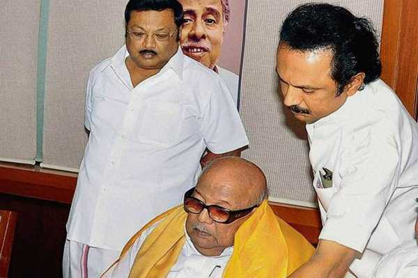 ayyadirai-to-become-dmk-chief-after-karunanidhi