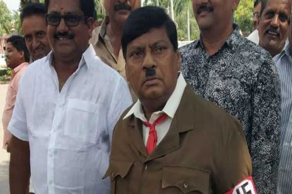 tdp-mp-turns-up-as-adolf-hitler-in-parliament
