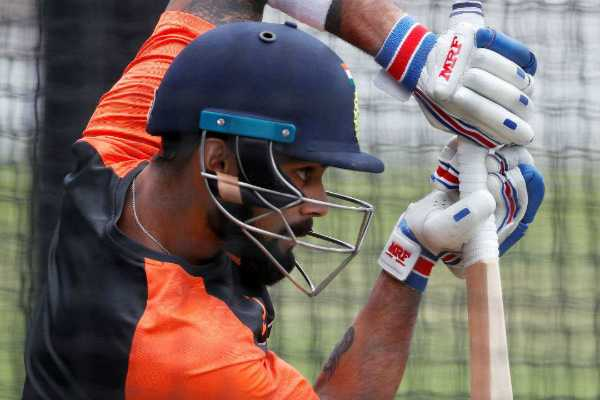 arjun-tendulkar-bowls-to-indian-batsmen-in-nets-for-preparation-of-2nd-test