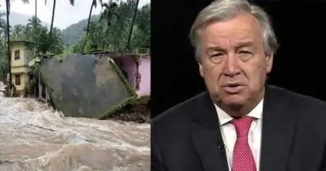 un-chief-saddened-over-destruction-caused-by-floods-in-kerala
