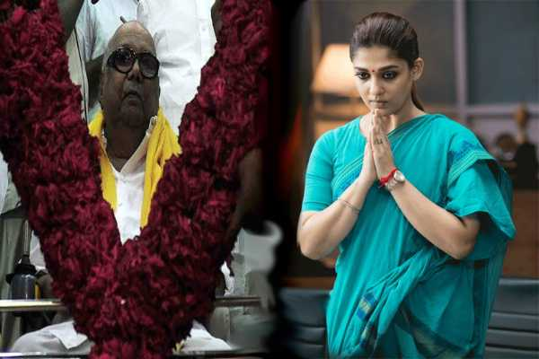 nayanthara-planning-to-visit-karunanidhi-s-memorial