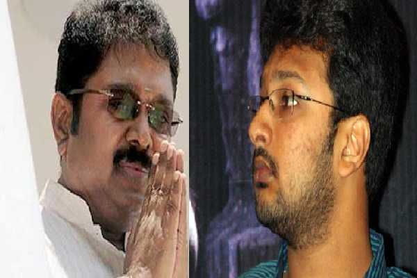 action-politics-mk-azhagiri-s-son-who-met-ttv-dhinakaran