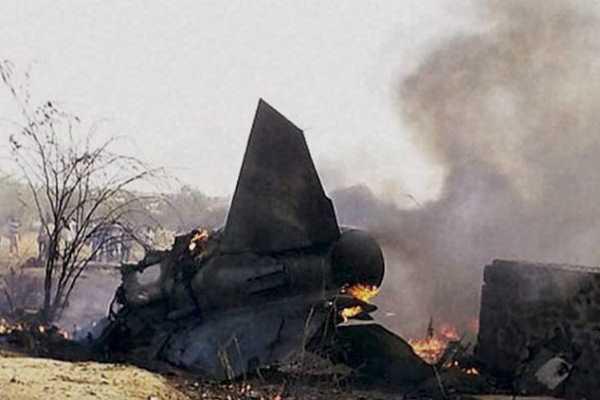 mig-27-fighter-jet-crashes-outside-jodhpur