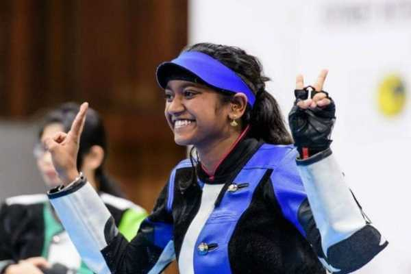 indian-women-junior-team-shooters-won-gold-in-issf-world-championship