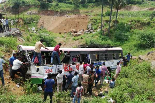 telangana-bus-accident-30-dead