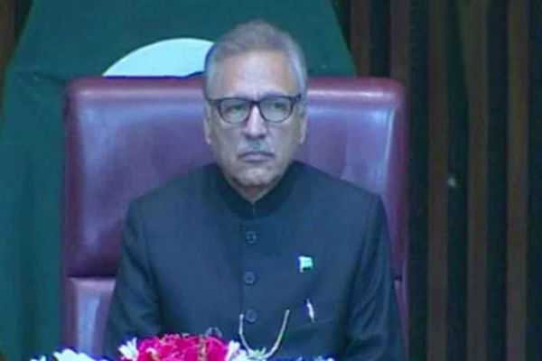 pakistan-president-arif-alvi-brings-up-kashmir-in-first-parliament-speech