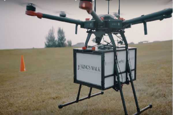 drone-delivers-food-in-iceland