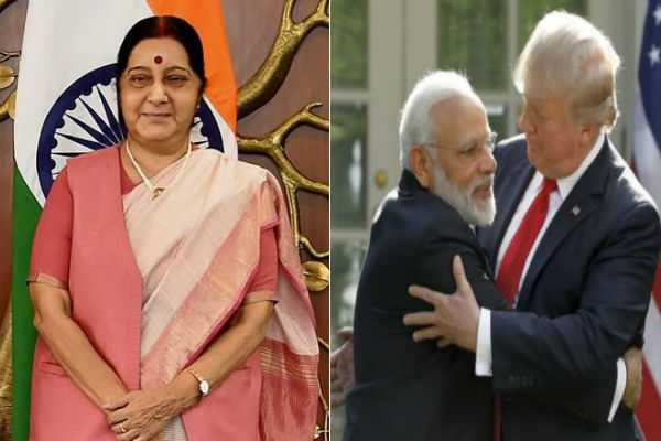 love-india-give-regards-to-my-friend-pm-modi-trump-tells-sushma-swaraj