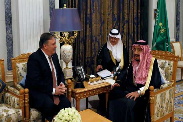 pompeo-holds-talks-with-saudi-king-on-missing-journalist-jamal-khashoggi