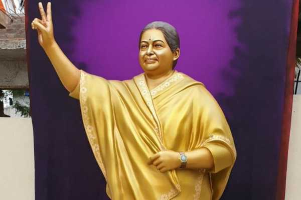 jayalalitha-s-statue-came-from-andhra