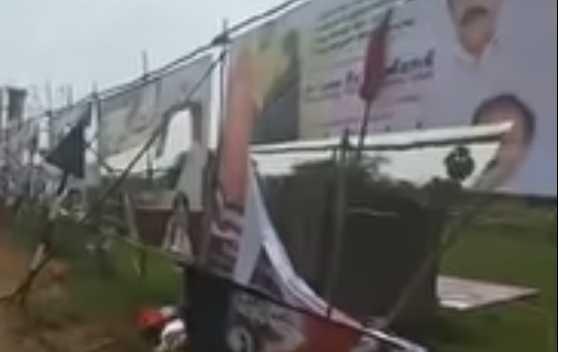 edappadi-palanisamy-banners-damaged