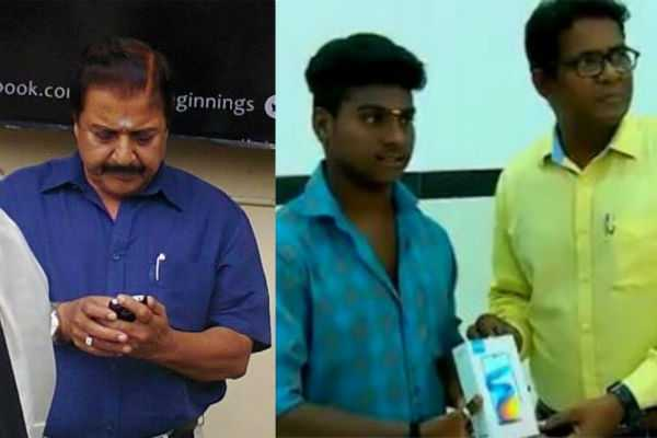 student-rahul-gets-new-cellphone-from-actor-sivakumar