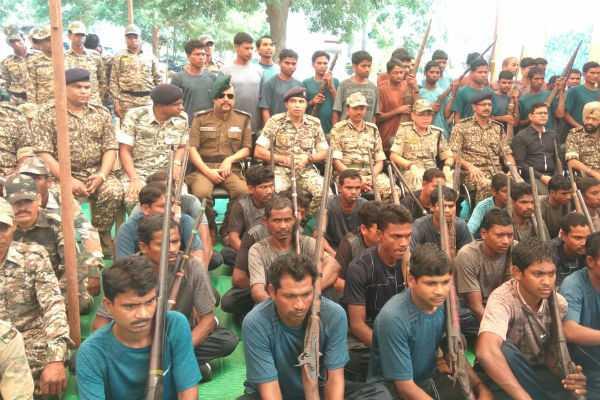 chattisgarh-62-naxals-surrendered-with-guns