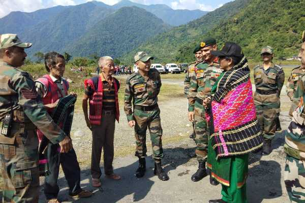nirmala-sitharaman-celebrates-diwali-with-army-soldiers-their-families-and-locals-at-hyulong-arunachal-pradesh
