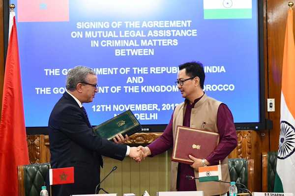 india-morocco-sign-mla-pact-to-help-each-other-in-criminal-legal-matters
