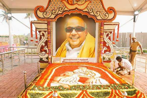 kalaignar-karunanidhi-memorial-100th-day-remembrance