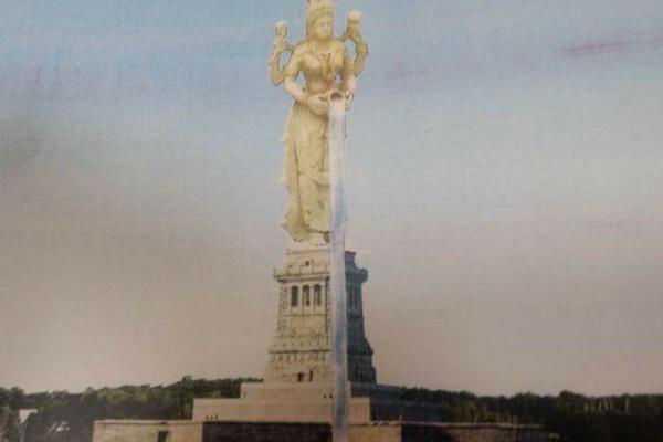mother-cauvery-statue-in-karnataka