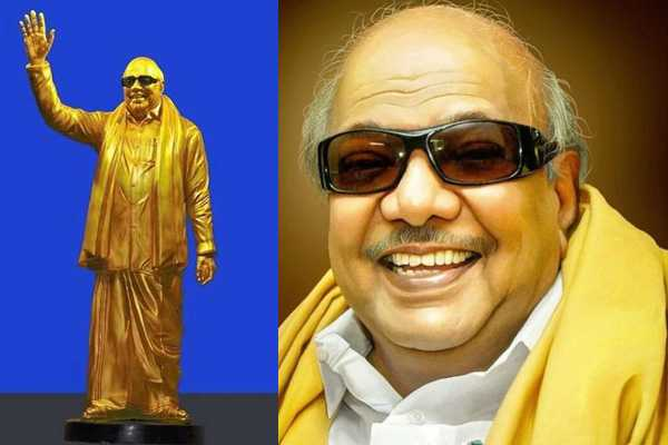 a-statue-of-late-dmk-chief-m-karunanidhi-will-be-unveiled-in-chennai-on-december-16