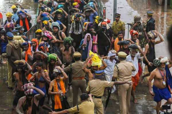 more-than-80-devotees-arrested-in-sabarimala