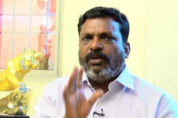 thol-thirumavalavan-urged-central-govt-to-announce-gaja-cyclone-as-national-disaster