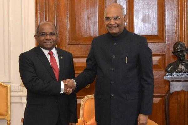 foreign-minister-of-maldives-calls-on-the-president