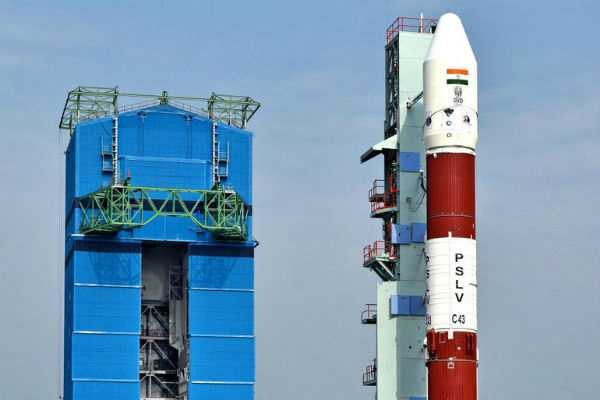 isro-to-launch-hysis-satellite-30-others-with-pslv-c43-rocket-today