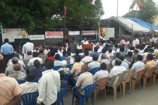chennai-transport-workers-protest