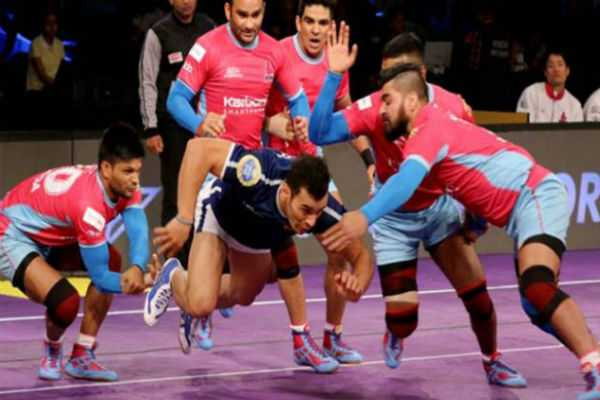 pro-kabaddi-league-6th-victory-for-jaipur