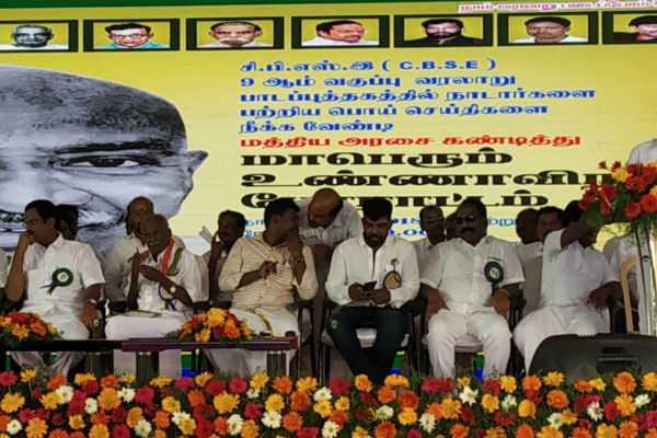 the-hunger-strike-on-behalf-of-nadar-sangam-in-chennai