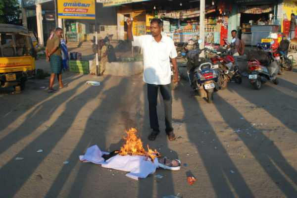 protest-against-for-vaiko