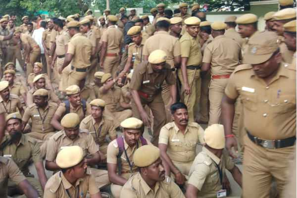 home-guards-strike-in-chennai