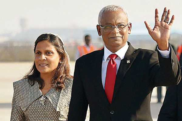 maldivian-president-arrives-for-three-day-visit