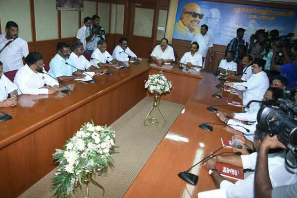 dmk-meeting-at-chennai-anna-arivalayam