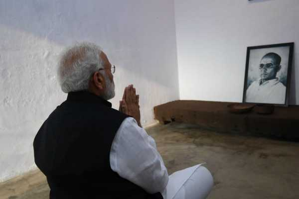 prime-minister-visits-savarkars-cell-in-andaman-jail